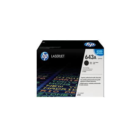 Tóner Original LaserJet HP 643A Negro Q5950A